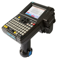 the CSL cs101 rfid handheld with cs506 module for rtls location
