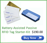 PowerID BAP RFID tag Starter-Kit