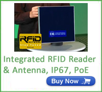 CS203 Integrated RFID Reader & antenna IP67 poe